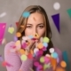 Confetti Blowing Woman - VideoHive Item for Sale