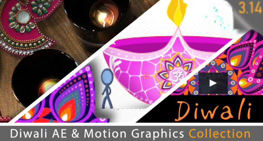 Diwali AE projects and Motion Graphics