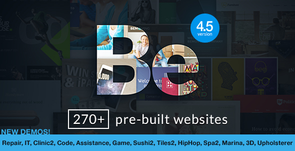 BeTheme - HTML Responsive Multi-Purpose Template Screenshot