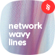 Network Wavy Lines Backgrounds - GraphicRiver Item for Sale