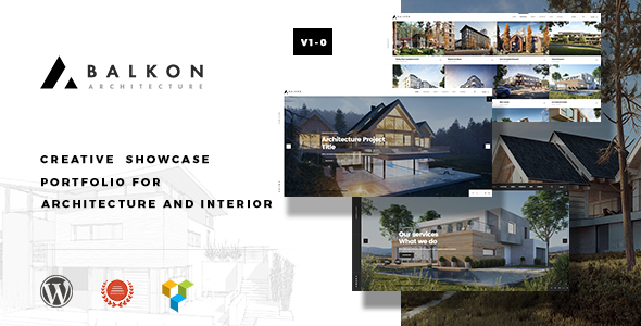 Image of Balkon - Creative Responsive Architecture WordPress Theme