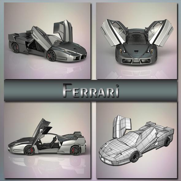Ferrari - 3DOcean Item for Sale