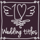 Romantic Wedding Titles Pack - VideoHive Item for Sale
