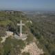 Aerial View of Filerimos Cross