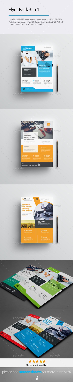 GraphicRiver Flyer Pack Bundle 20703847