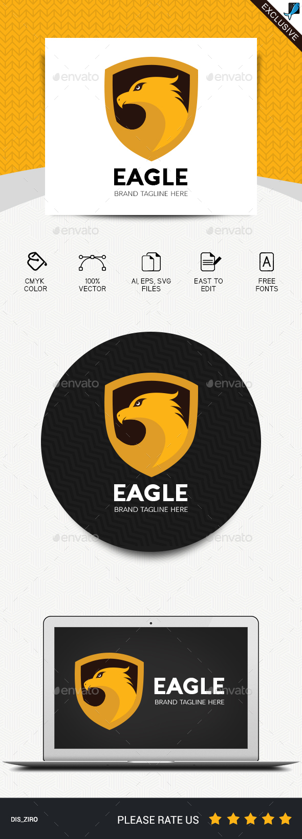 GraphicRiver Eagle Logo 20695121