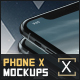 Phone X Device Mockups - GraphicRiver Item for Sale