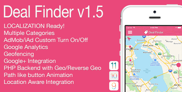 Deal Finder Full iOS Application v1.5 - CodeCanyon Item for Sale