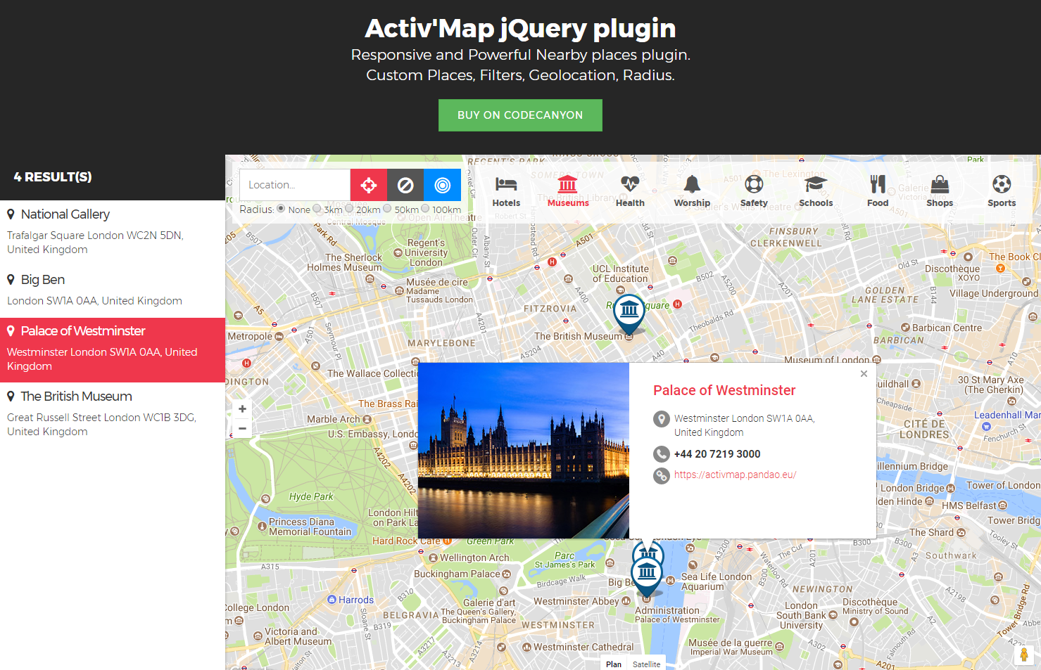 Activmap nearby places responsive poi gmaps by pandao codecanyon activmap nearby places responsive poi gmaps baditri Images
