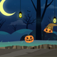 2D Spooky Forest - Halloween Parallax Game Background - GraphicRiver Item for Sale