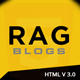 Rag - Blog Magazine HTML Template - ThemeForest Item for Sale