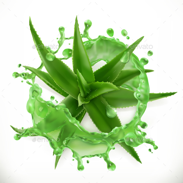 GraphicRiver Aloe Juice 20704238