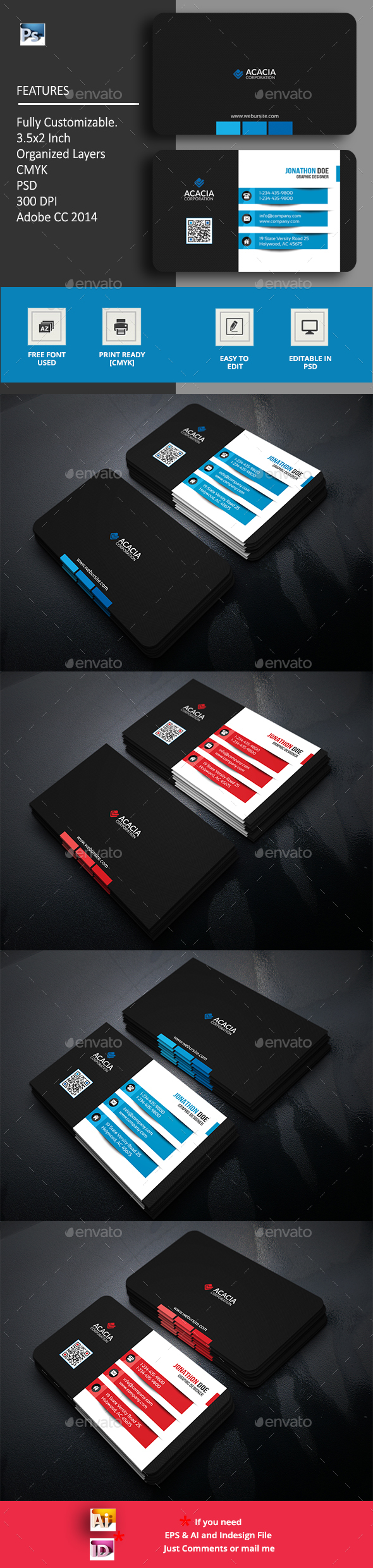 GraphicRiver Tanta Business Card 20704288
