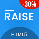 RAISE - Multipurpose OnePage Responsive Website Template - ThemeForest Item for Sale