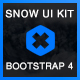 SNOW UI Kit – Bootstrap v4.0 Skin - CodeCanyon Item for Sale