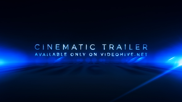 Cinematic Trailer Titles | Media Opener
