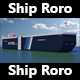 Roro Panama Ship - 3DOcean Item for Sale