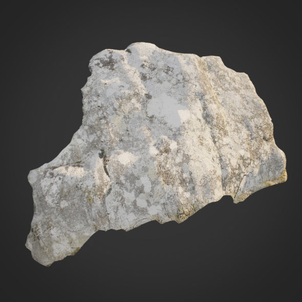 3d scanned nature stone 013 - 3DOcean Item for Sale