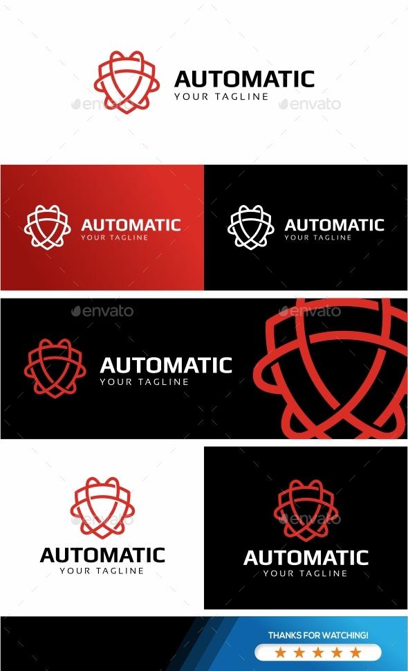 GraphicRiver Automatic- Shield Logo 20704632
