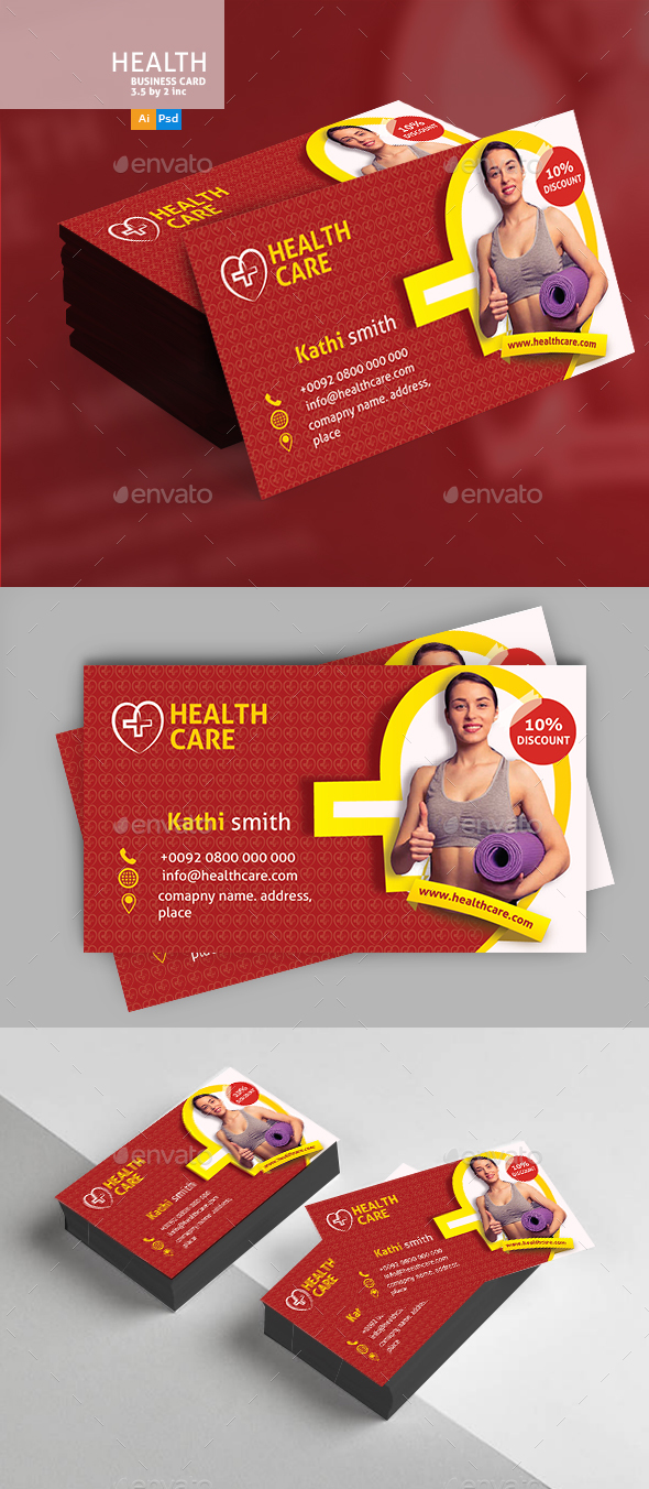 GraphicRiver Nutrition Business Card Template 20704885