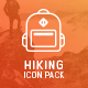 Hiking Icon Pack - GraphicRiver Item for Sale