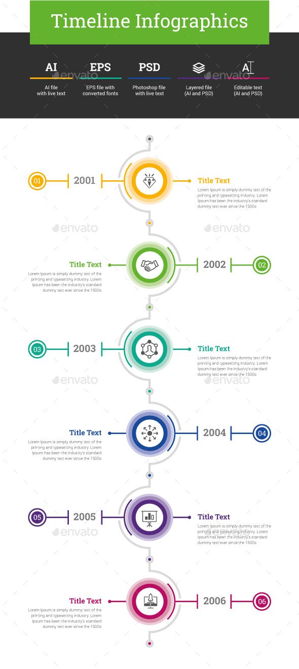 Timeline Infographics - Infographics