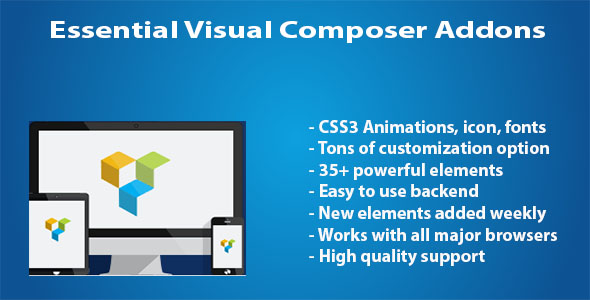 Essential WPBakery Page Builder (formerly Visual Composer) Addons - CodeCanyon Item for Sale
