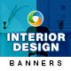 Interior Design Banners - GraphicRiver Item for Sale