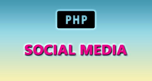 PHP-Scripte — Social Media