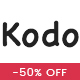 Kodo - Minimal Responsive WooCommerce Theme - ThemeForest Item for Sale