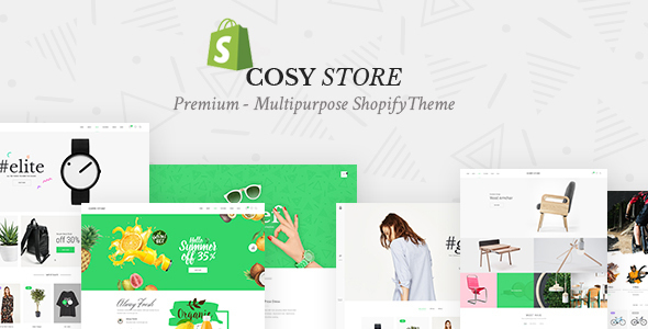 Cosy - Multipurpose Shopify Theme