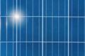 solar energy panel closeup
