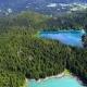 Lake Lago Di Fusine Superiore Italy Alps