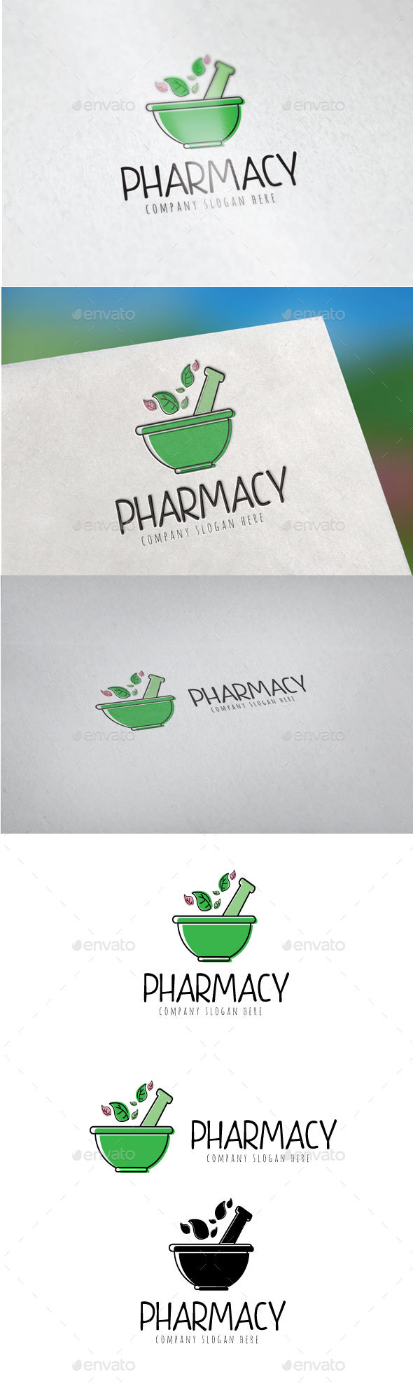 GraphicRiver Pharmacy Logo 20700113