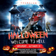 Halloween Hell Party Flyer