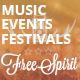 FreeSpirit - Music Festival & Event Template - ThemeForest Item for Sale
