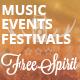 FreeSpirit - Music Festival & Event Template - ThemeForest Item for Sale