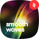 Smooth Colored Waves Backgrounds - GraphicRiver Item for Sale