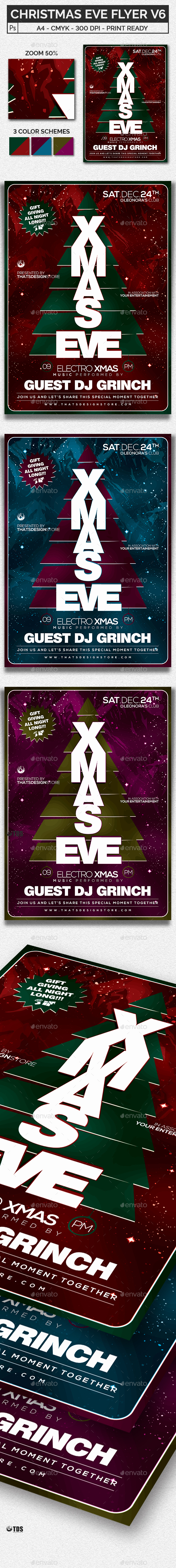 Christmas Eve Flyer Template V6 - Holidays Events