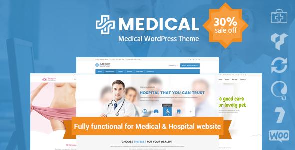 Medical Clinic Hospital WordPress Theme | inMedical - Health & Beauty Retail