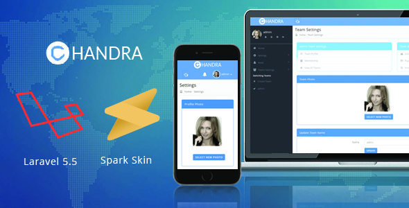 Chandra - Laravel Spark Skin - CodeCanyon Item for Sale
