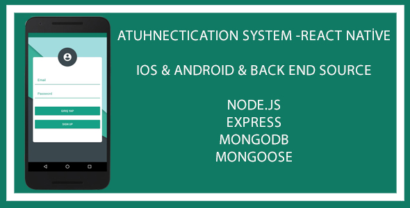 authentication system app react native jogjafile. Black Bedroom Furniture Sets. Home Design Ideas