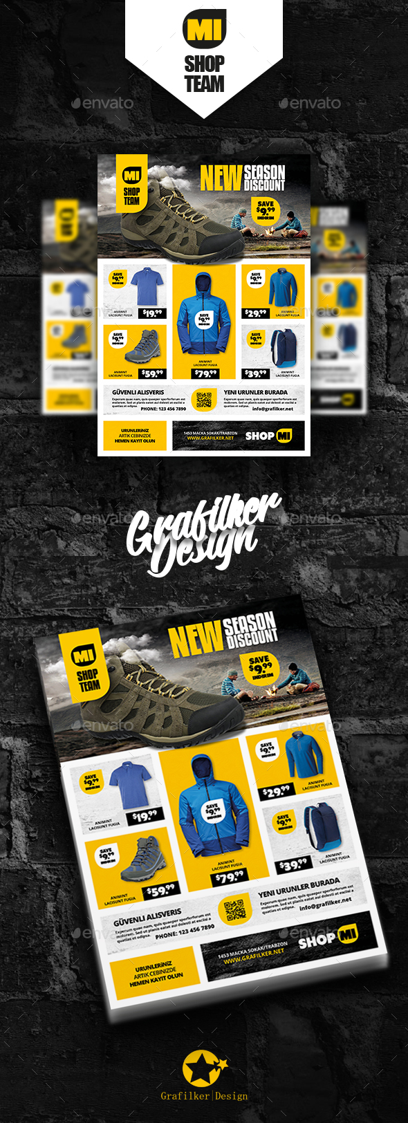Shopping Product Flyer Templates - Commerce Flyers