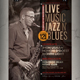 Live Jazz Blues Flyer / Poster - GraphicRiver Item for Sale