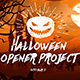 Halloween Opener Project - VideoHive Item for Sale