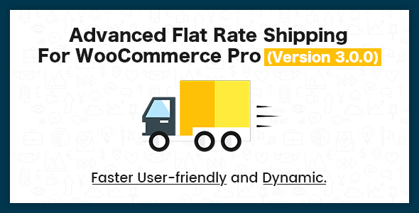 Advance Flat Rate Shipping Method For WooCommerce - CodeCanyon Item for Sale