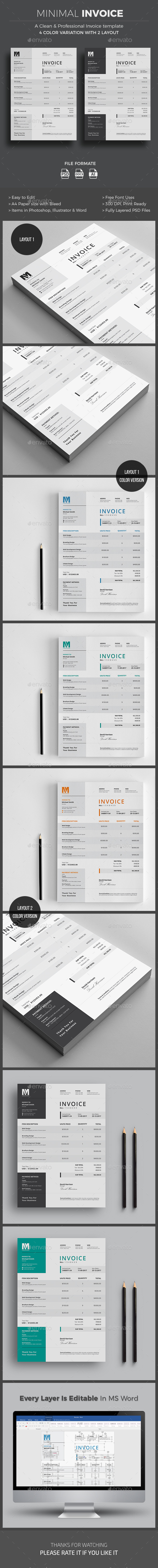 Receipt Reimbursement Word Business Proposal  Invoice Templates From Graphicriver Format Of Invoice Bill Word with Receipt Voucher Sample  Nordstrom Rack Return Policy No Receipt Pdf
