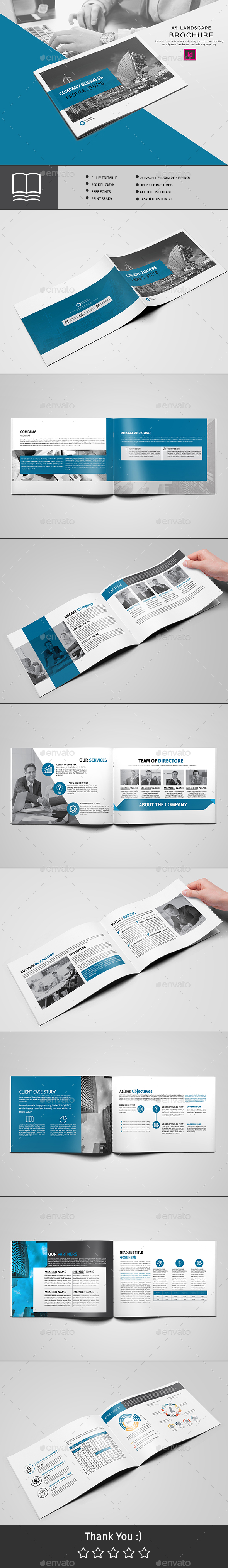 GraphicRiver Brochure 16 Page 20706499