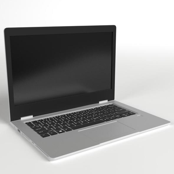 Notebook Laptop Computer - 3DOcean Item for Sale