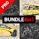 Constructum - 4in1 Photoshop Actions Bundle